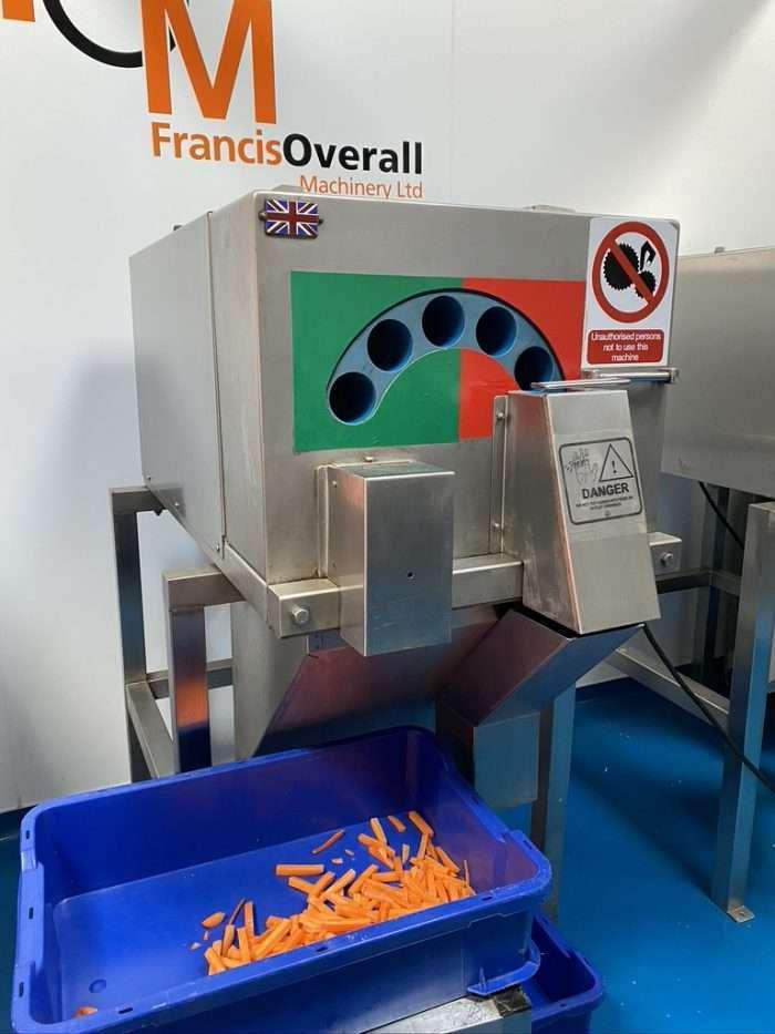 Automatic carrot baton machine