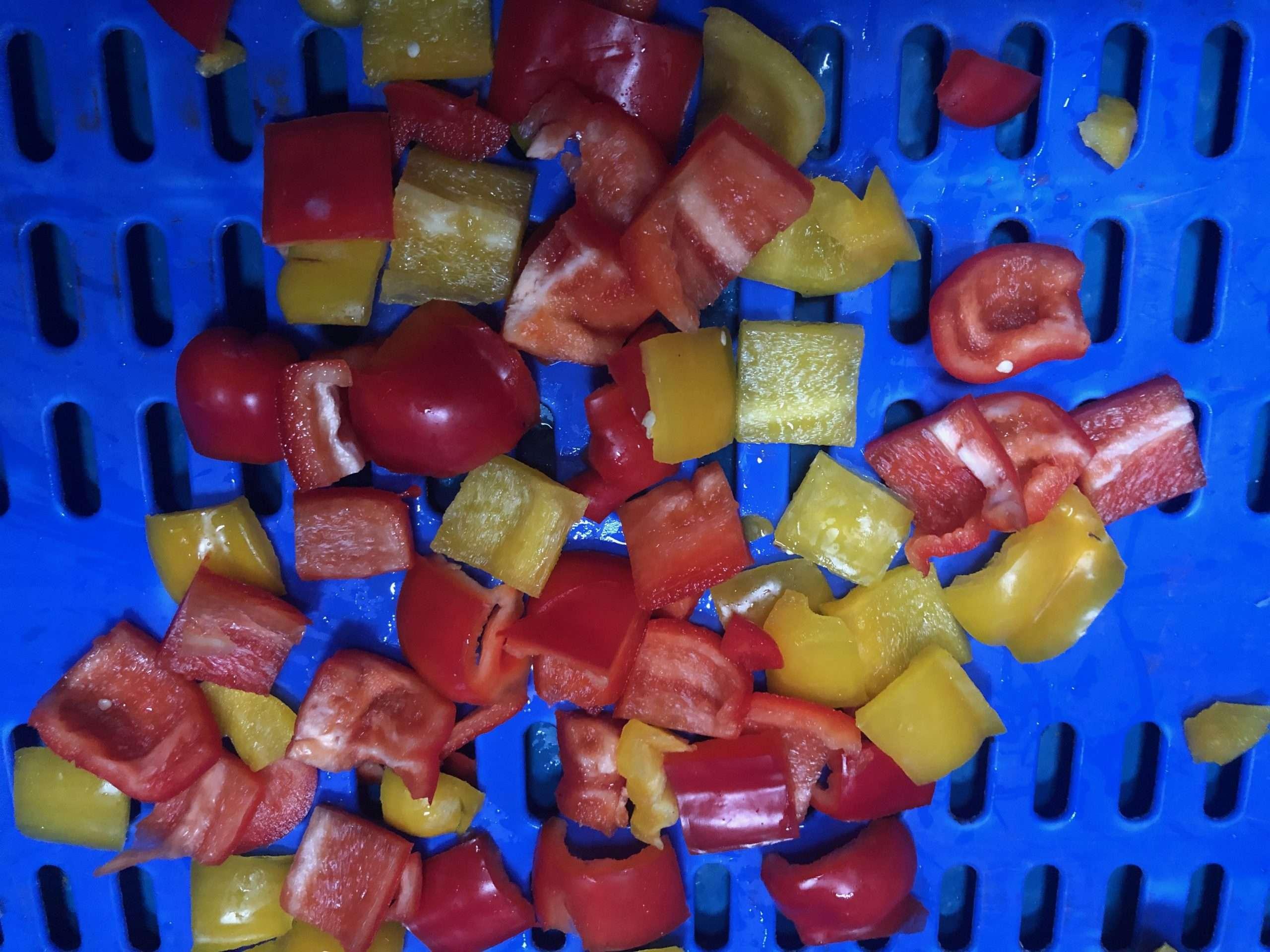 pepper slicing