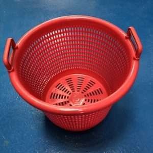 Red Salad spinning baskets